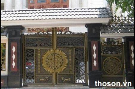 thợ sơn cửa sắt tại hà nội
