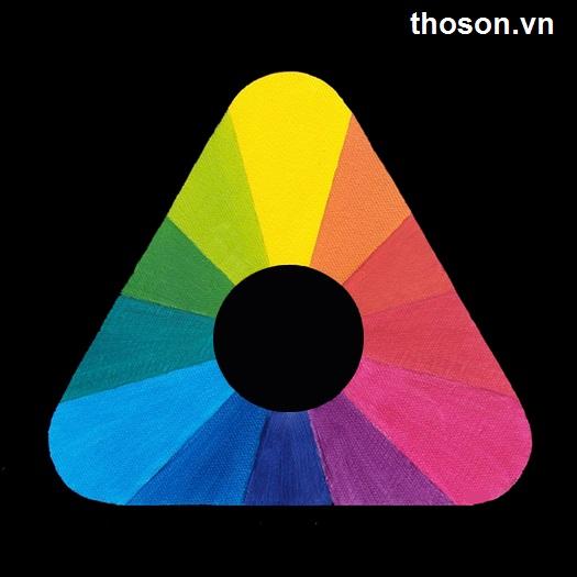 hướng dẫn pha màu sơn