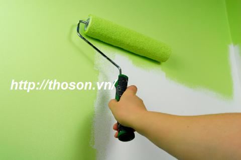 hướng dẫn tự sơn nhà