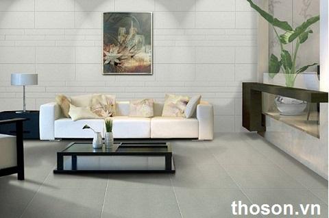 nên ốp gạch hay sơn tường